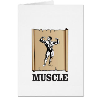 muscle form meat card