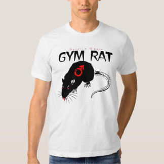 Muscle Head Gym Rat Shirts