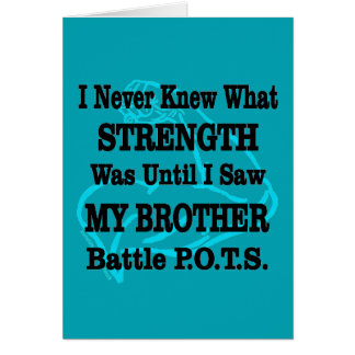Muscle/I Never Knew...Brother Card