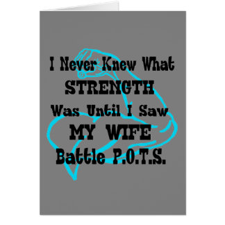 Muscle/I Never Knew...Wife Card