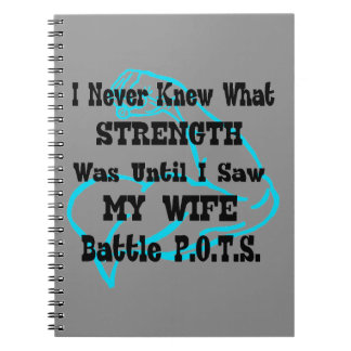 Muscle/I Never Knew...Wife Spiral Note Books