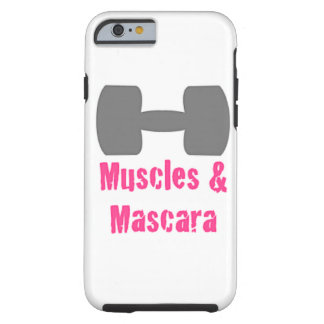 Muscle & Mascara - Phone Case! Tough iPhone 6 Case