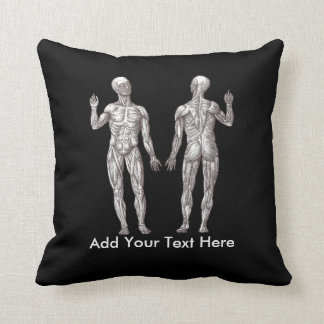 Muscle Men - Anatomy of the Human Muscular System Pillow