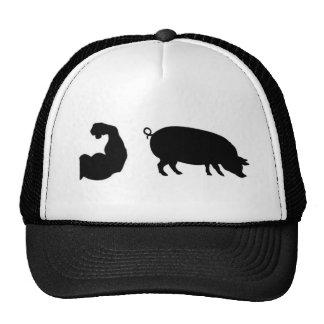 Muscle Pig Trucker Hat