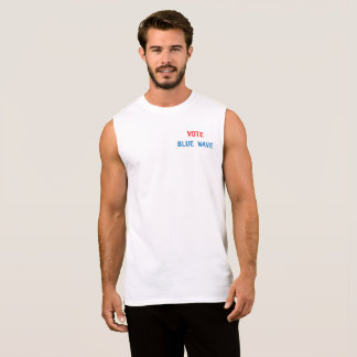 muscle tee with a message