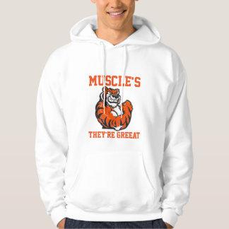 Muscle Tiger hoodie