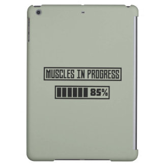 Muscles in Progess workout  Zpf7n Case For iPad Air