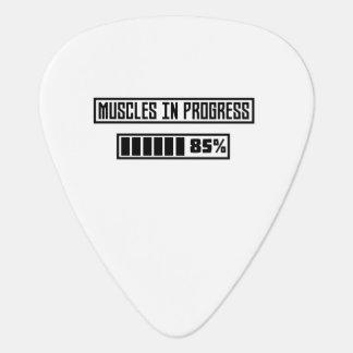 Muscles in Progess workout  Zpf7n Guitar Pick