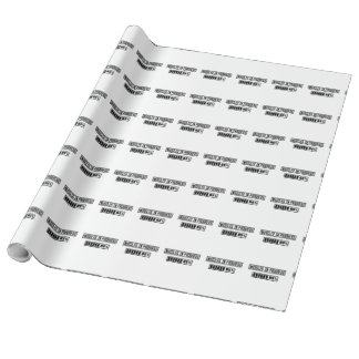 Muscles in Progess workout  Zpf7n Wrapping Paper