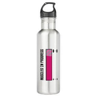 Muscles in Progress GYM Z21z3 710 Ml Water Bottle