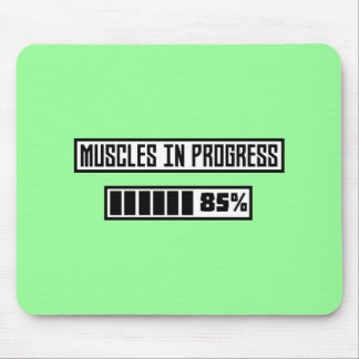 Muscles in progress workout Z1l52 Mouse Pad