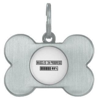 Muscles in progress workout Z1l52 Pet Tag