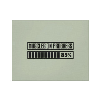 Muscles in progress Workout Z8gnr Canvas Print