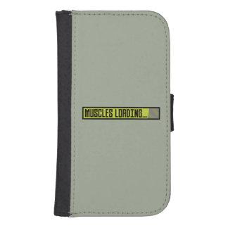 Muscles Loading Progressbar Zqy9t Samsung S4 Wallet Case