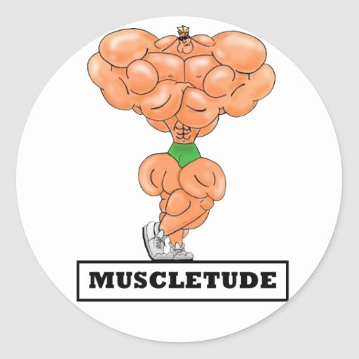 MUSCLETUDE,Sticker