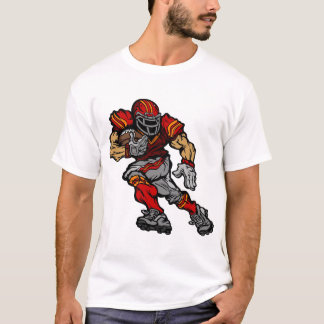 Muscular american football player T-Shirt