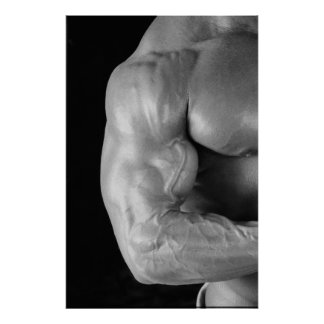 Muscular Arm Poster