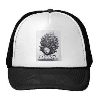 Muse in a shell (surrealism) trucker hat