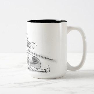 Muse of patagonia Two-Tone coffee mug