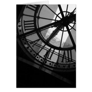 Musee d'Orsay Clock Card