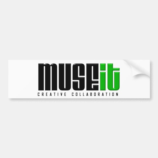MUSEit Bumper Sticker