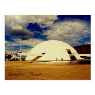 Museu Nacional Honestino Guimarães, Brasilia. Postcard