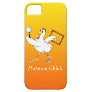 Museum Chick -iPhone Case
