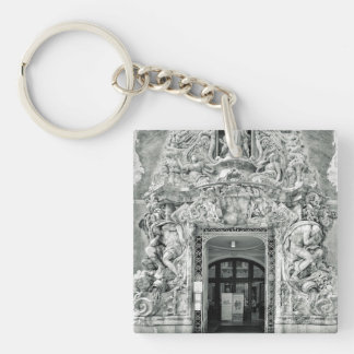 Museum Gonzalez Marti in Valencia Single-Sided Square Acrylic Keychain