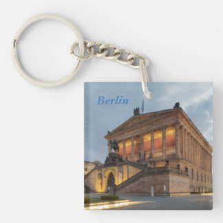 Museum Island in Berlin Single-Sided Square Acrylic Keychain