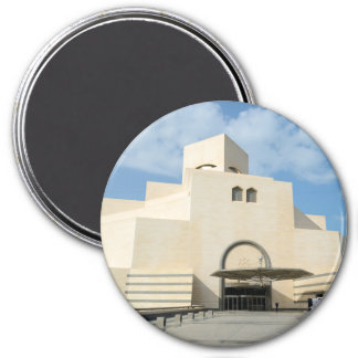 Museum of Islamic Arts, Qatar round magnet