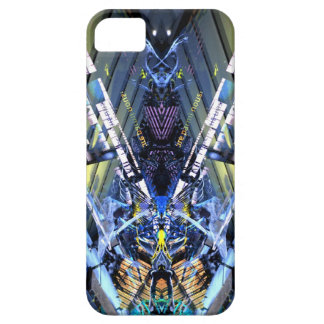 museum roschach dino blue iPhone 5 cases