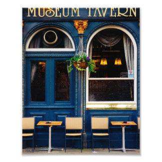 Museum Tavern Blue London Pub Photo