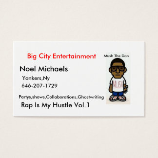 MUSH the Don Bussiness Cards