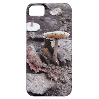 Mushroom and Leaves Cell Phone Case