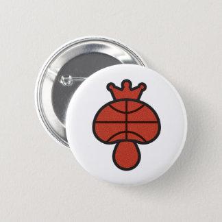 Mushroom Basketball theme 2 Inch Round Button