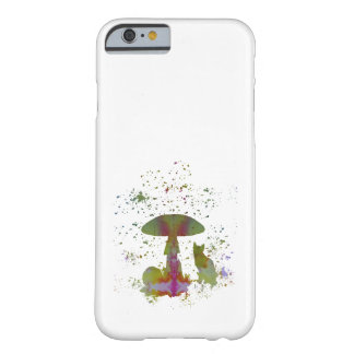 Mushroom Cat Barely There iPhone 6 Case