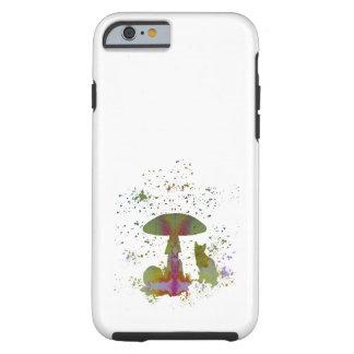Mushroom Cat Tough iPhone 6 Case