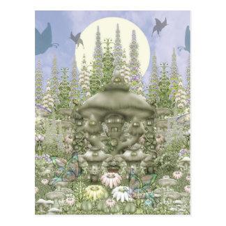 Mushroom Club - Mushroom Kingdom Postcard