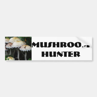 Mushroom Cluster - Photograph Bumper Sticker