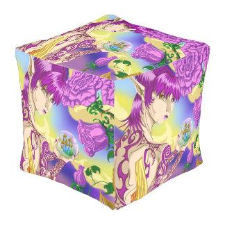 Mushroom Fairy Cube Bean Bags Pouf