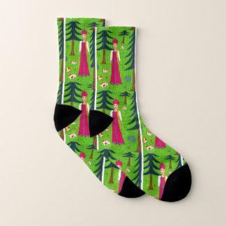 Mushroom Forest Socks