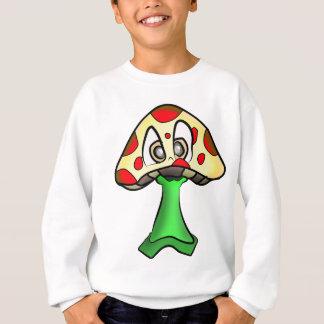 Mushroom Head Design Sweatshirt