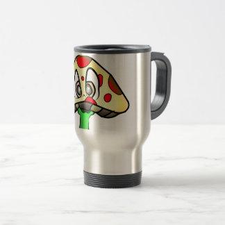 Mushroom Head Design Travel Mug