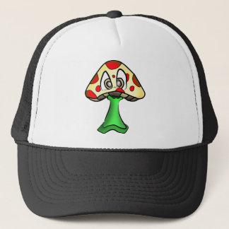 Mushroom Head Design Trucker Hat