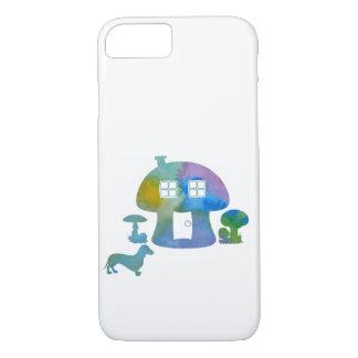 Mushroom House Case-Mate iPhone Case