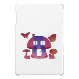 Mushroom House iPad Mini Cover