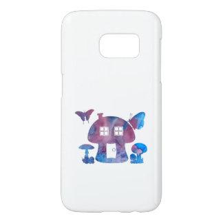 Mushroom House Samsung Galaxy S7 Case