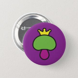 Mushroom Joker theme 2 Inch Round Button