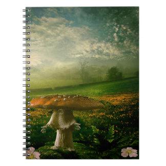 Mushroom Man Notebook