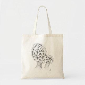 Mushroom Morchel design Tote Bag